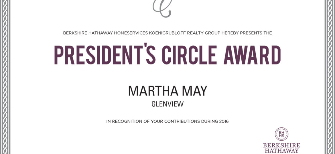 Martha-May_PresidentsCircle-Certificate (Demo)