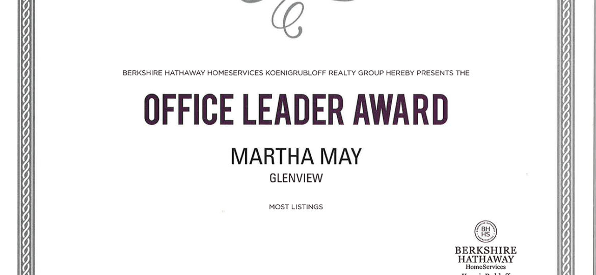 Office-Leader-Award-Most-Listings (Demo)