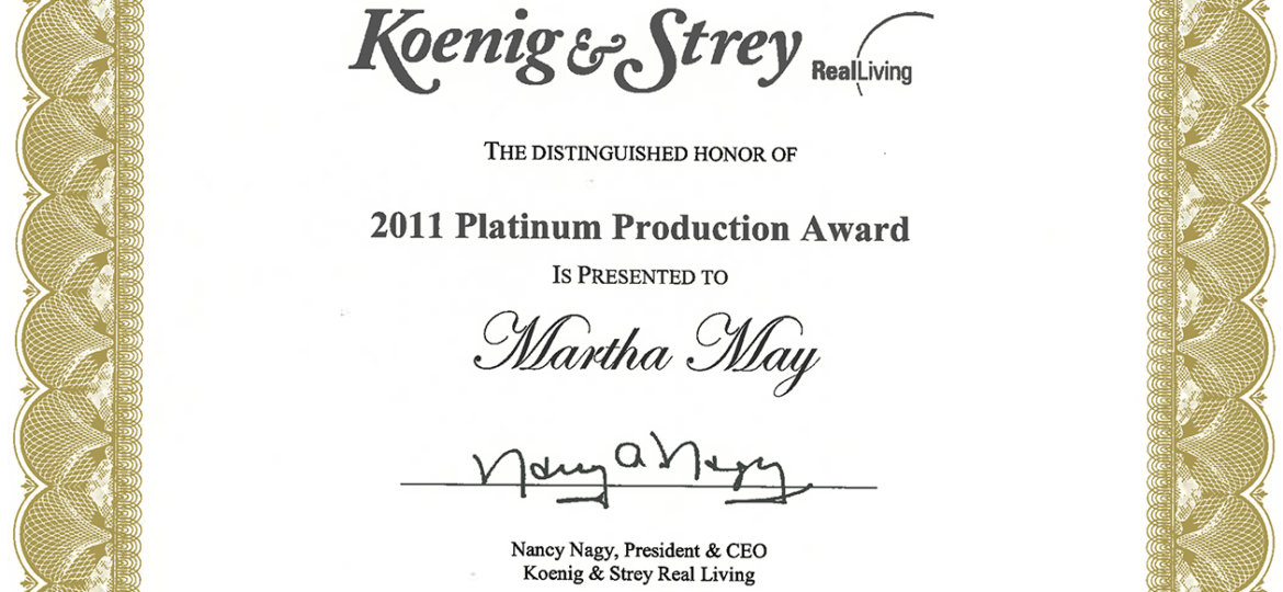 platinumproductionaward (Demo)