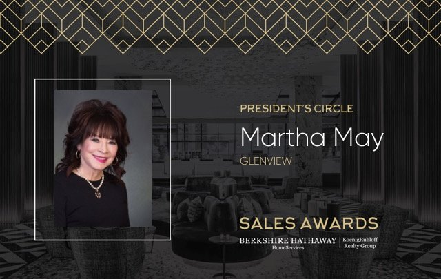 Martha May Presidents Circle Award 2018