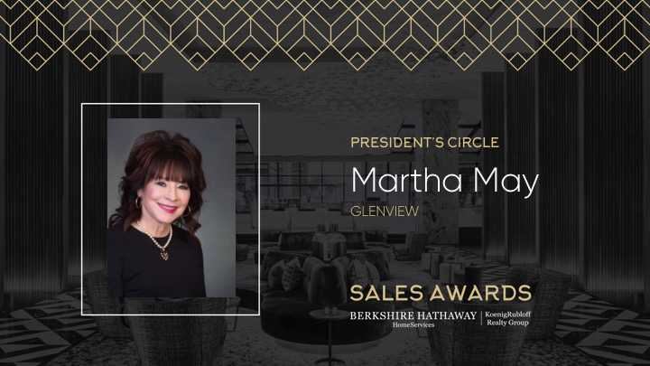 Martha May Presidents Circle Award 2018