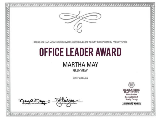 office-leader-2018-martha-may-award-realtor